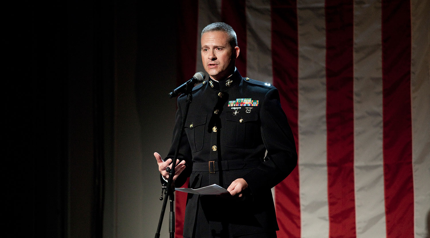 Captain Eric Tausch, Acting Director of Public Affairs for the United States Marine Corps