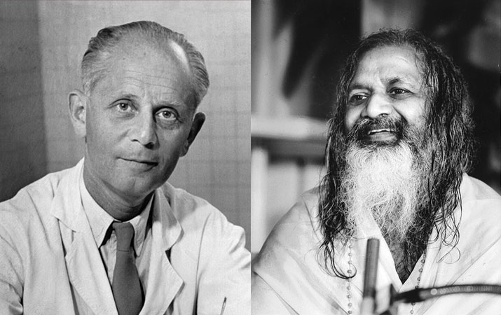 Maharishi and Dr. Selye spoke together at a conference on Transcendental Meditation and stress at Queens University in Canada in 1972.